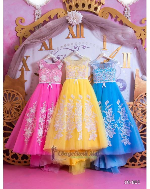 Детское платье 18-801