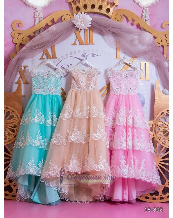 Детское платье 18-802