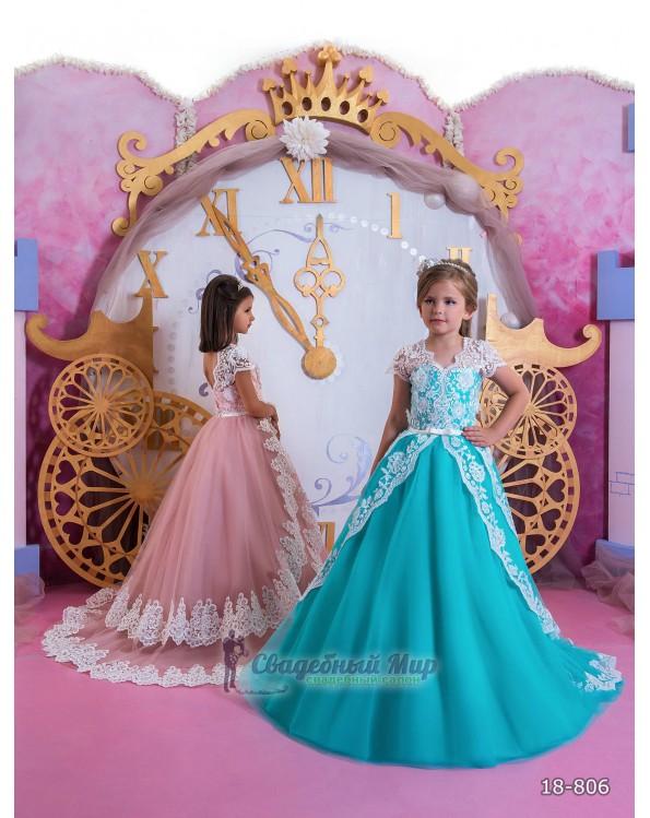 Детское платье 18-806