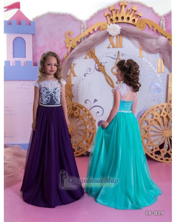 Детское платье 18-819