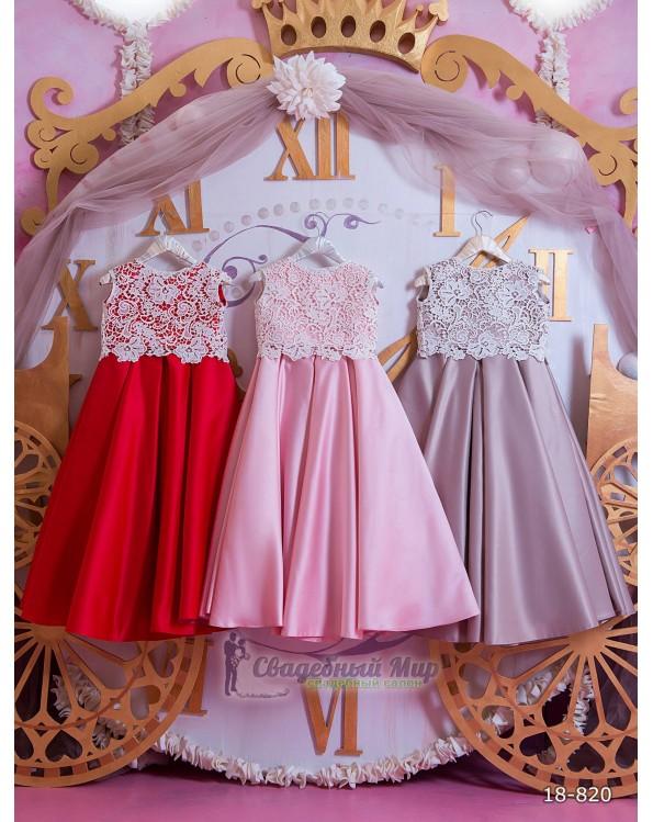 Детское платье 18-820