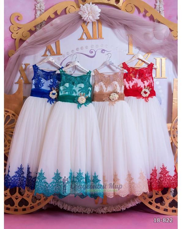 Детское платье 18-822