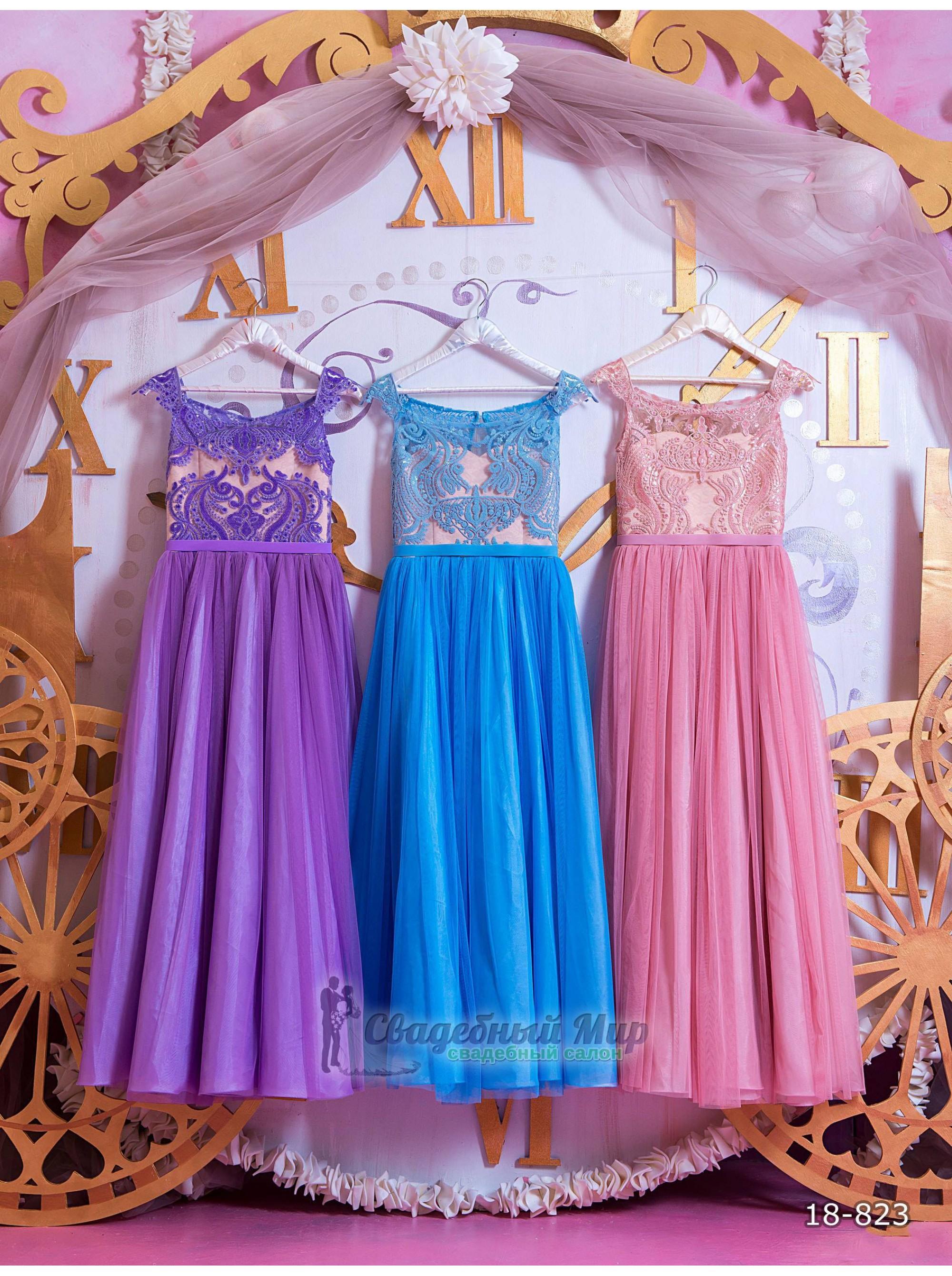 Детское платье 18-823