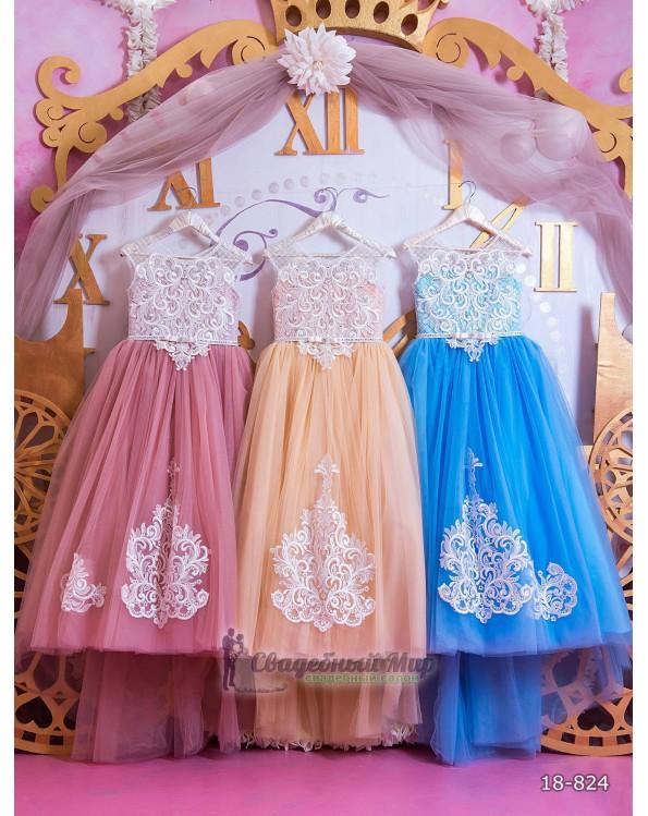 Детское платье 18-824