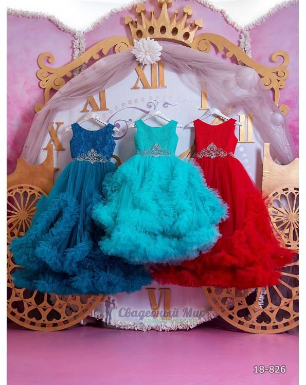 Детское платье 18-826