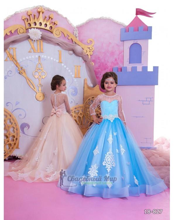 Детское платье 18-827
