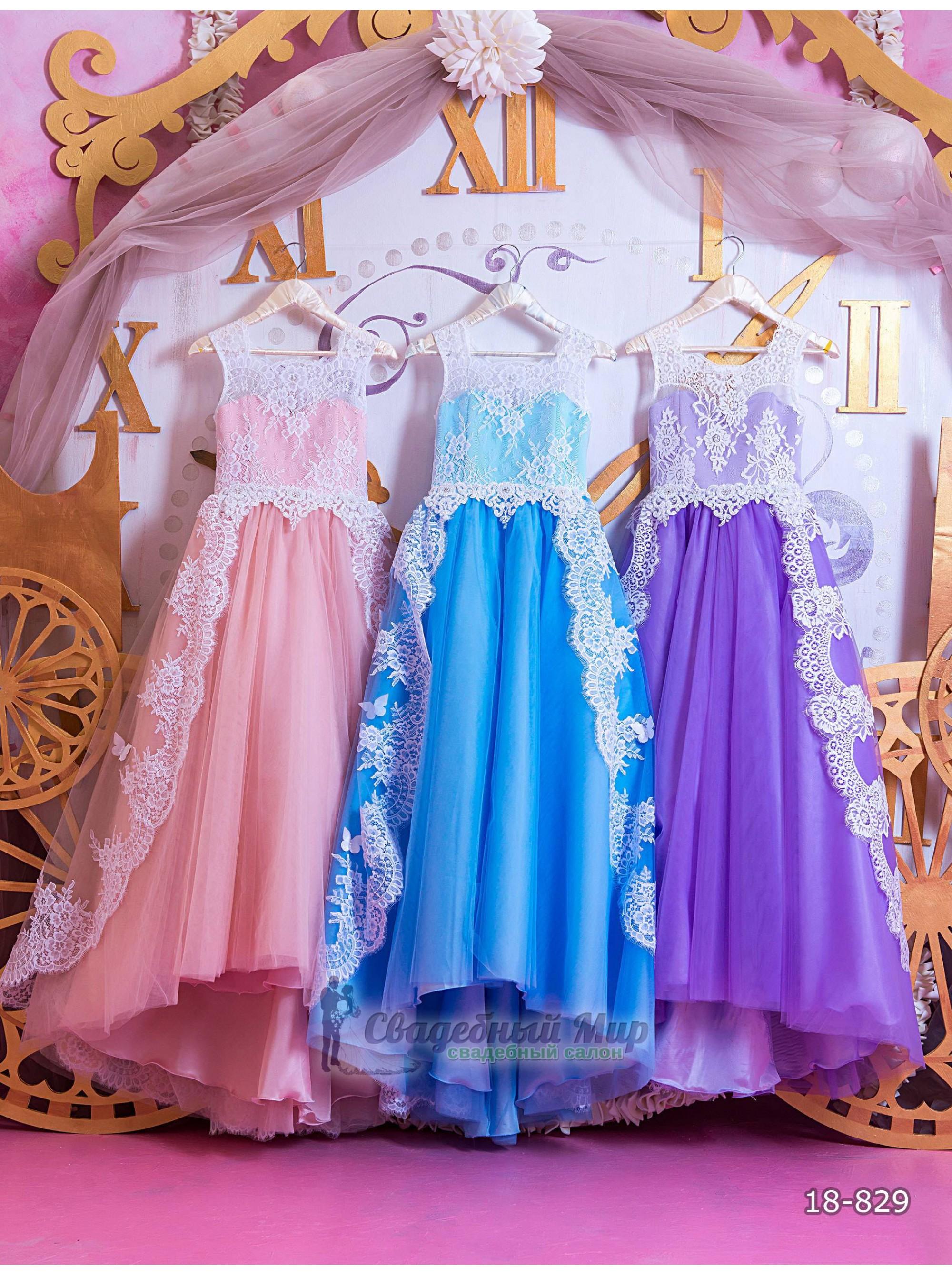 Детское платье 18-829