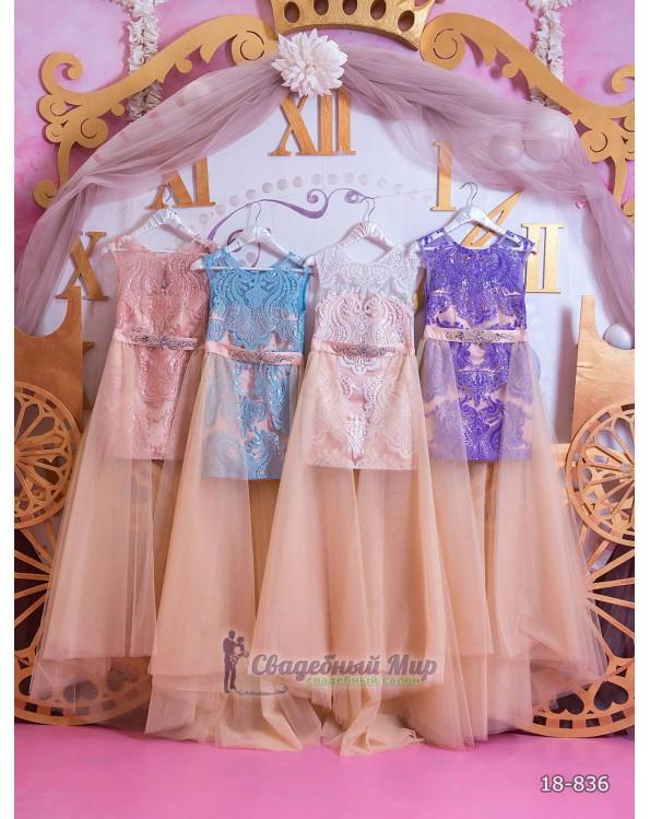 Детское платье 18-836