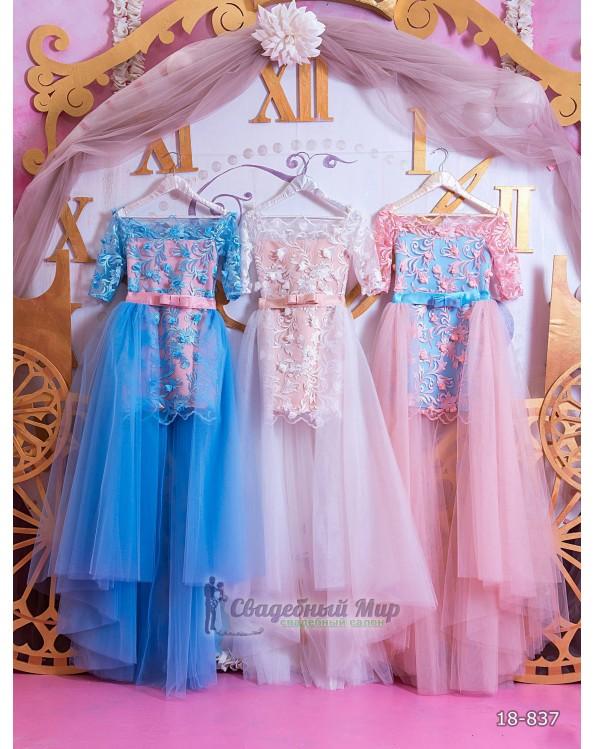 Детское платье 18-837