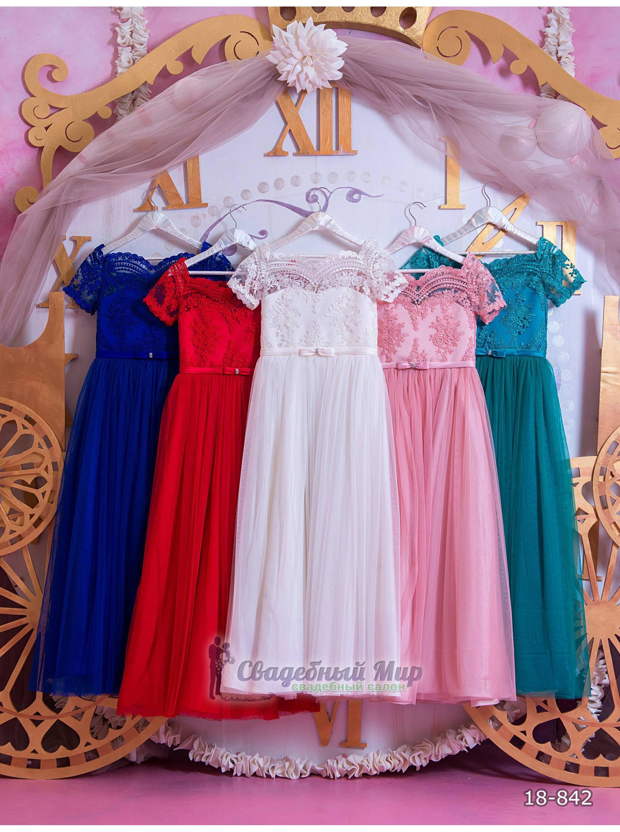 Детское платье 18-842