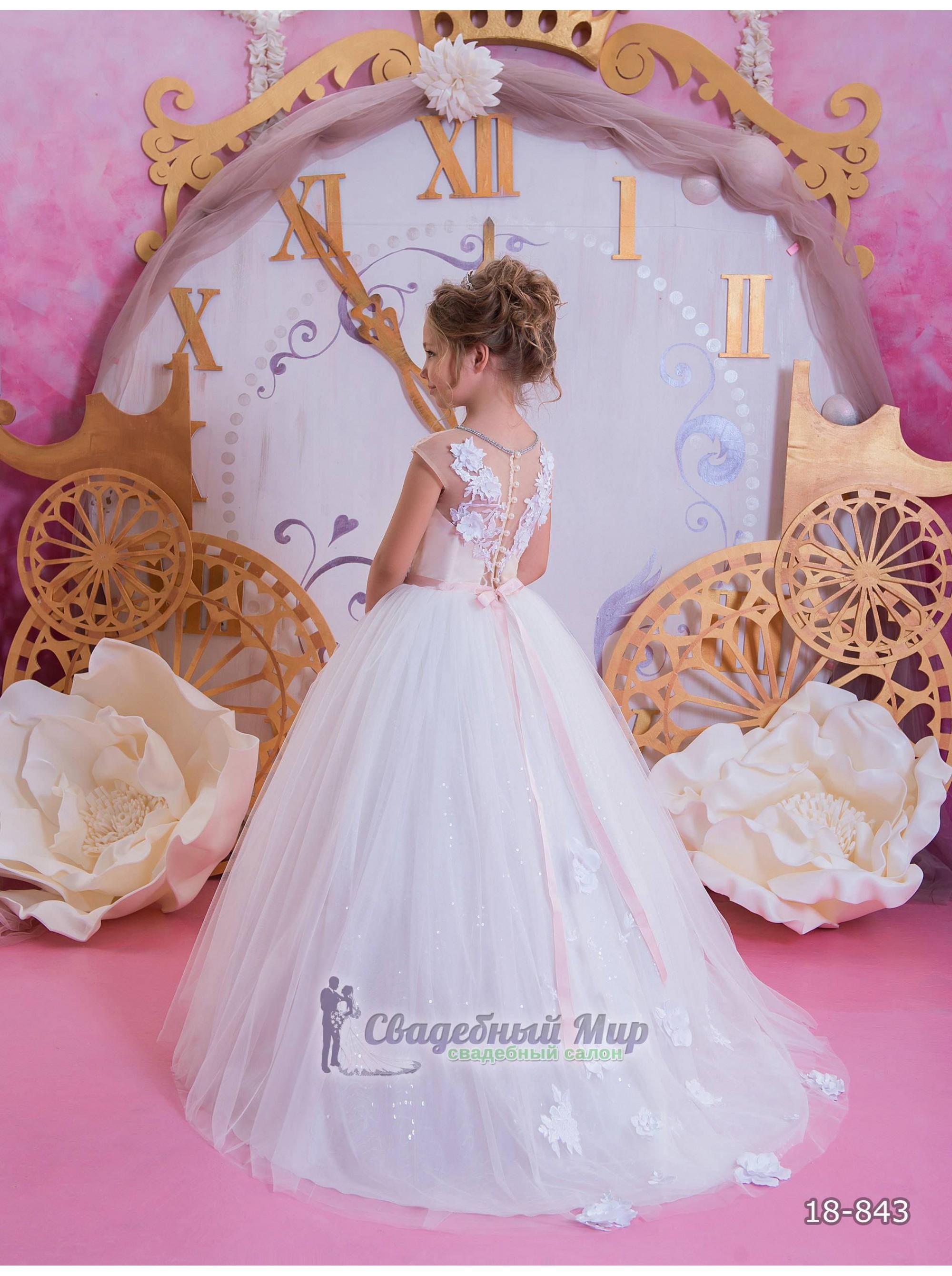 Детское платье 18-843