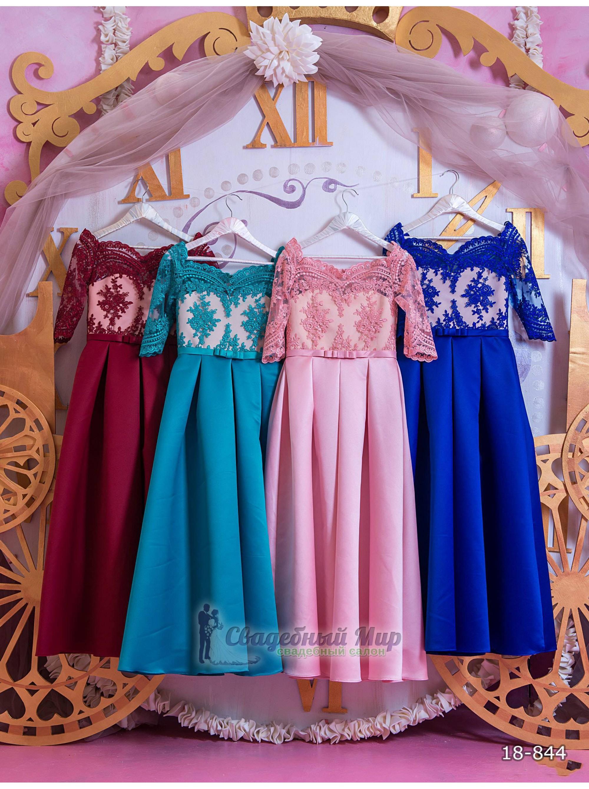 Детское платье 18-844