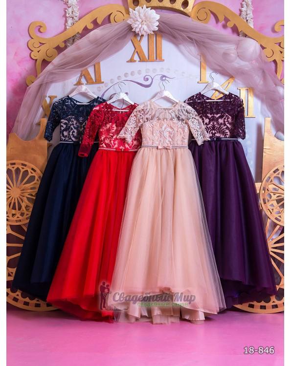 Детское платье 18-846