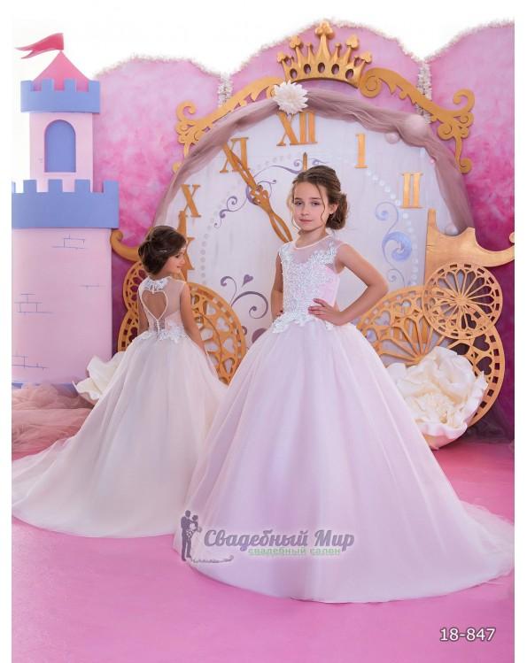 Детское платье 18-847