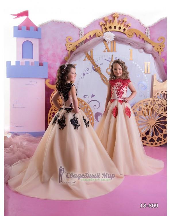 Детское платье 18-809