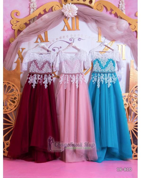 Детское платье 18-810
