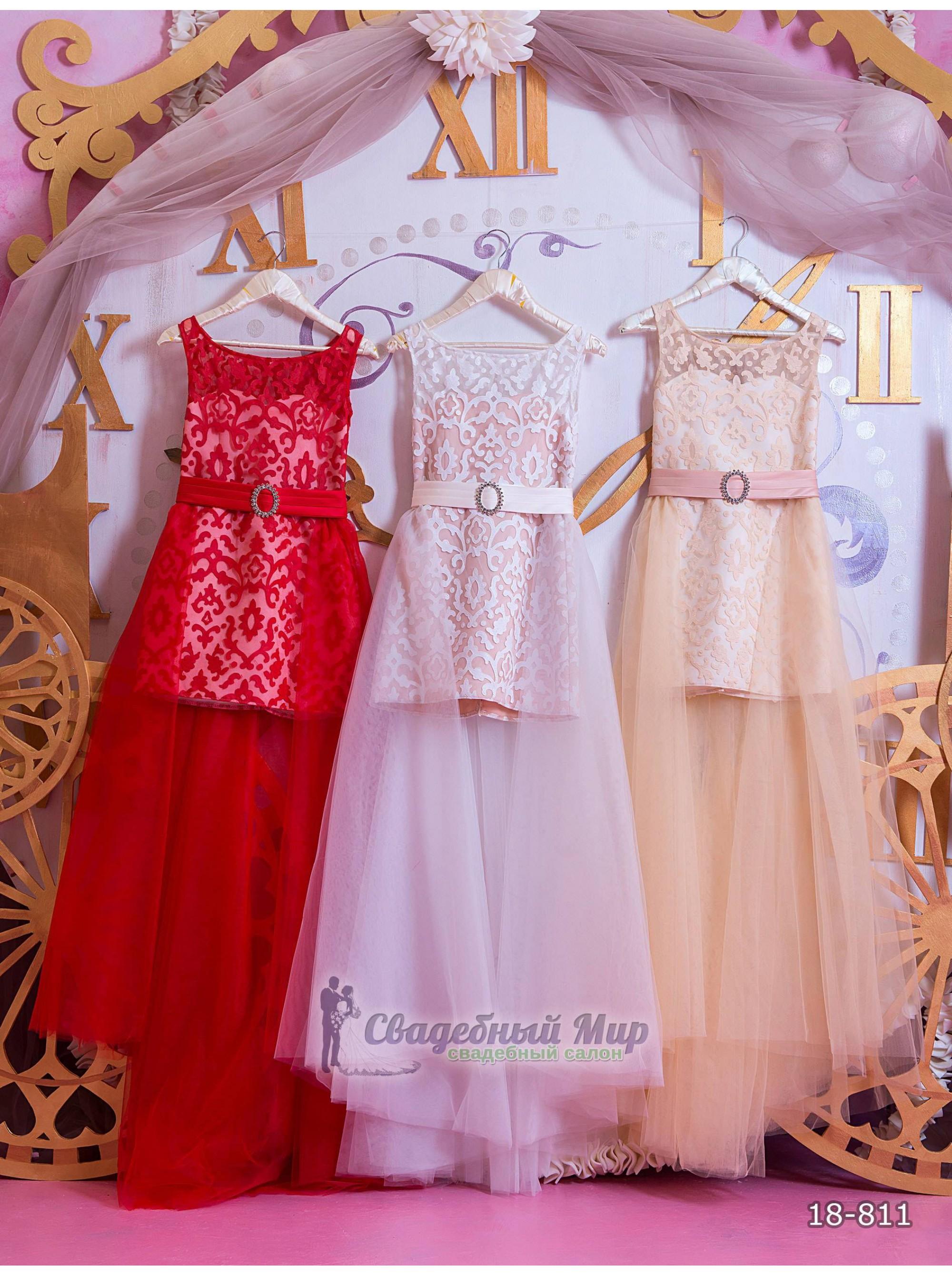 Детское платье 18-811
