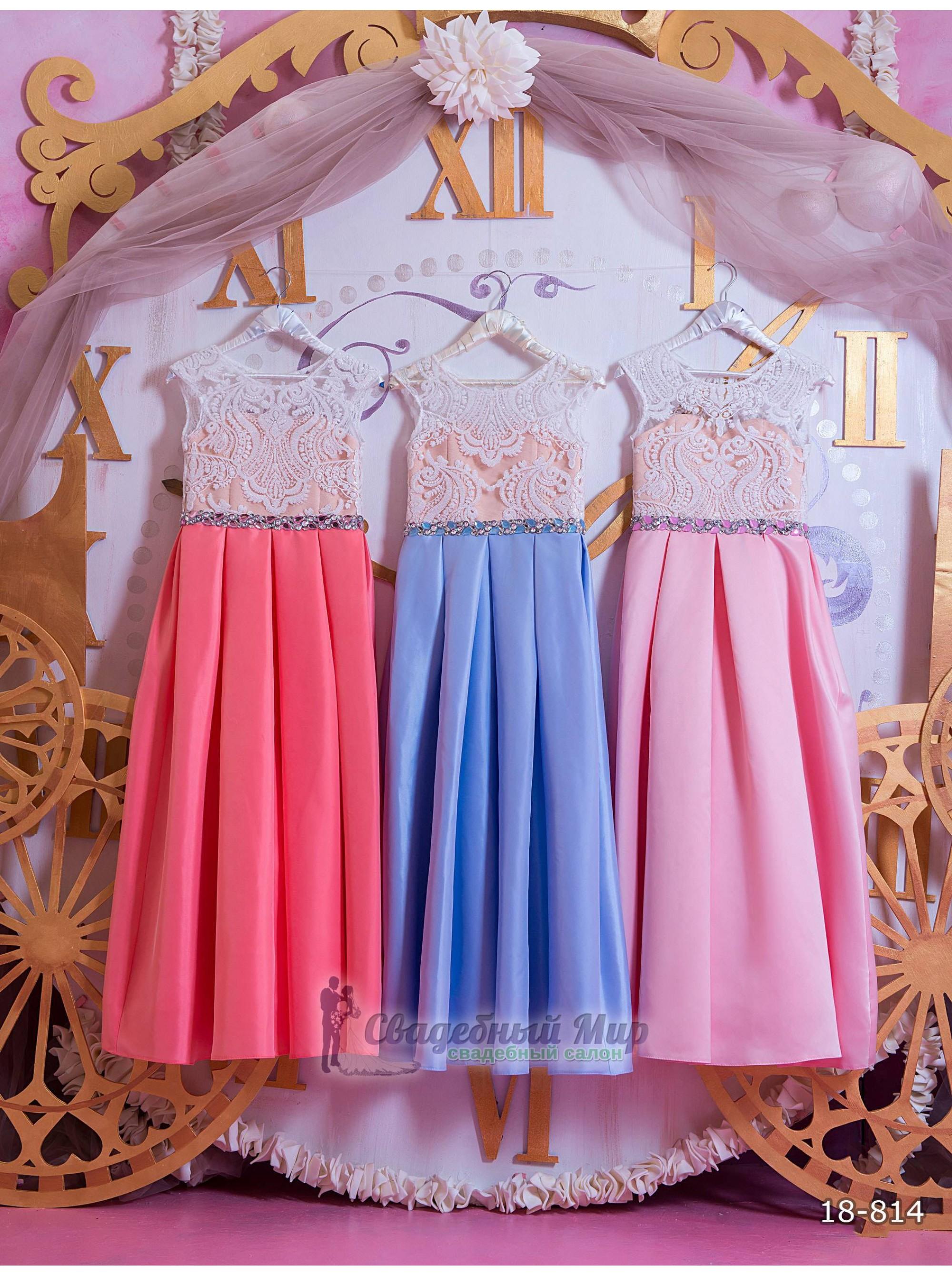 Детское платье 18-814