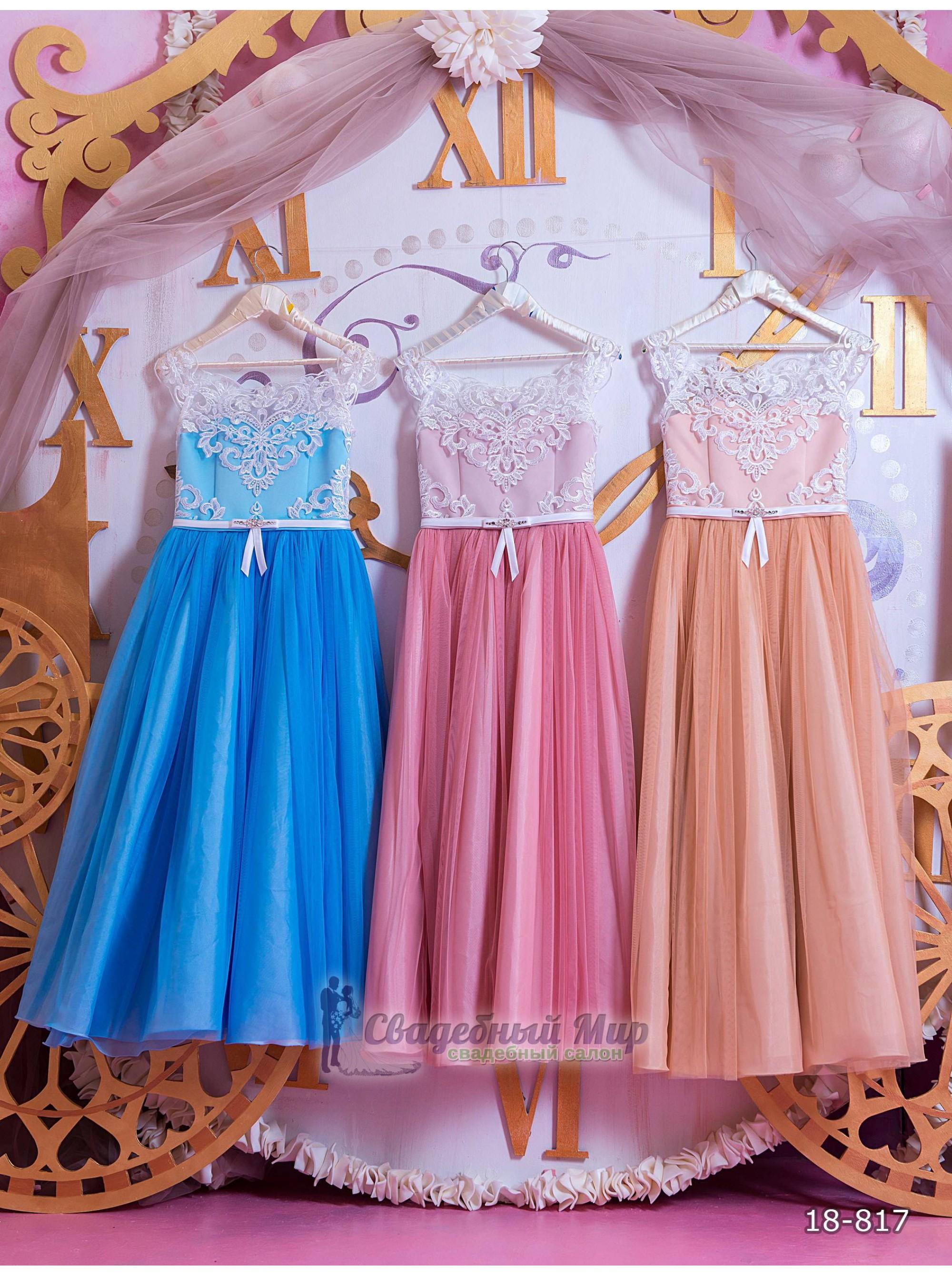 Детское платье 18-817