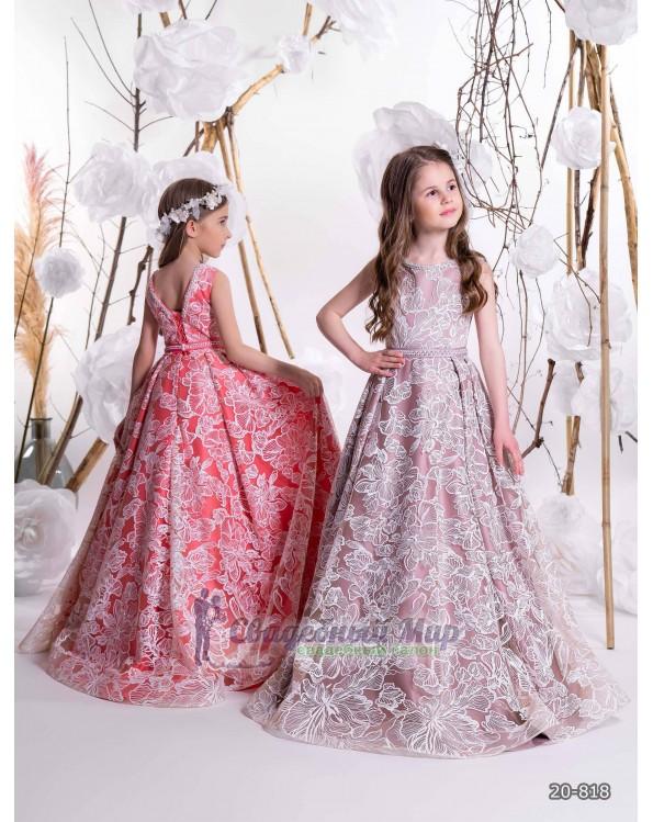 Детское платье 20-818