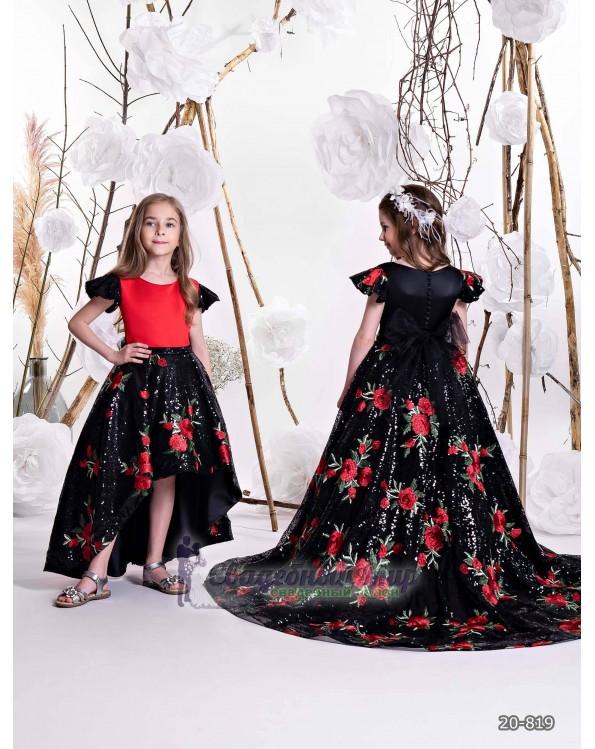 Детское платье 20-819