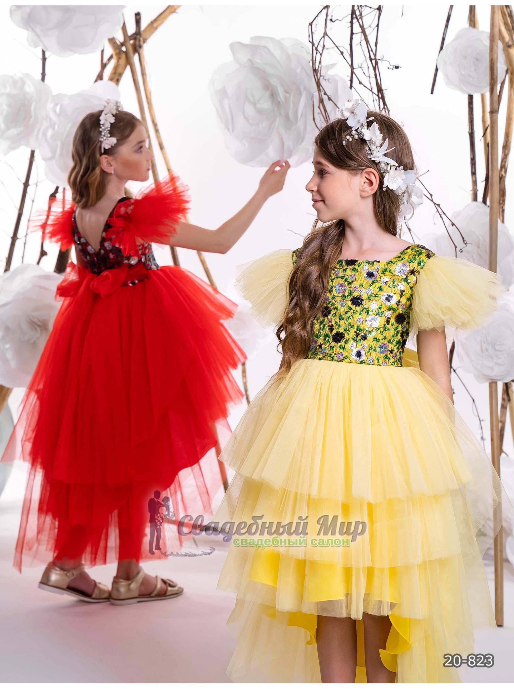 Детское платье 20-823
