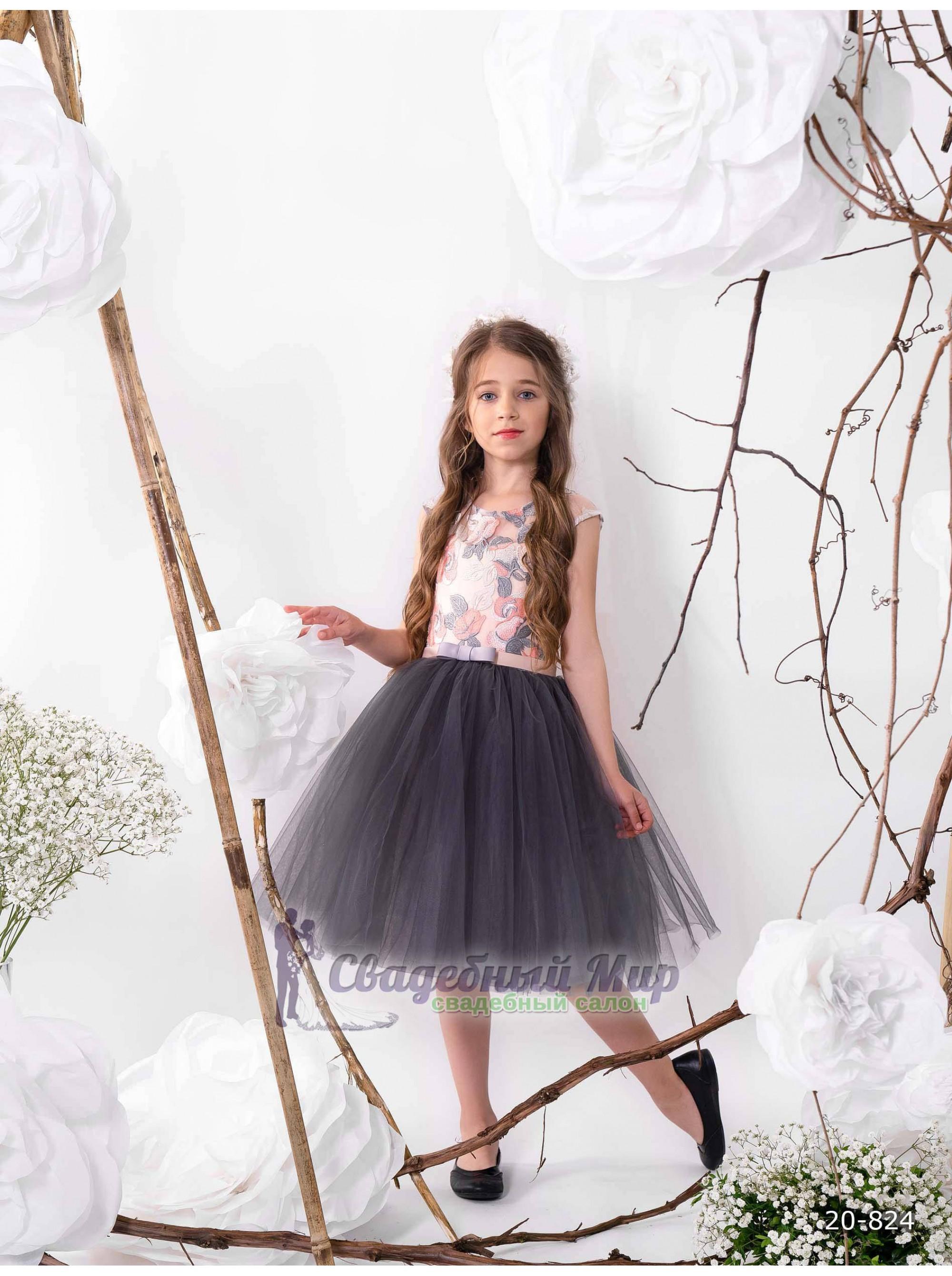 Детское платье 20-824