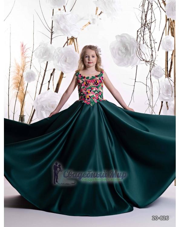 Детское платье 20-826
