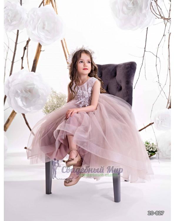 Детское платье 20-827