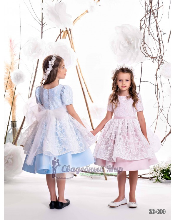 Детское платье 20-830
