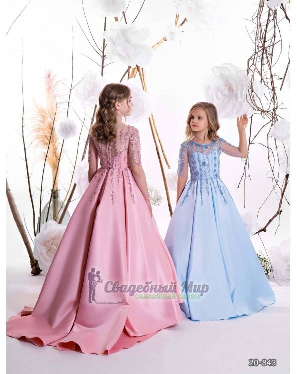 Детское платье 20-843
