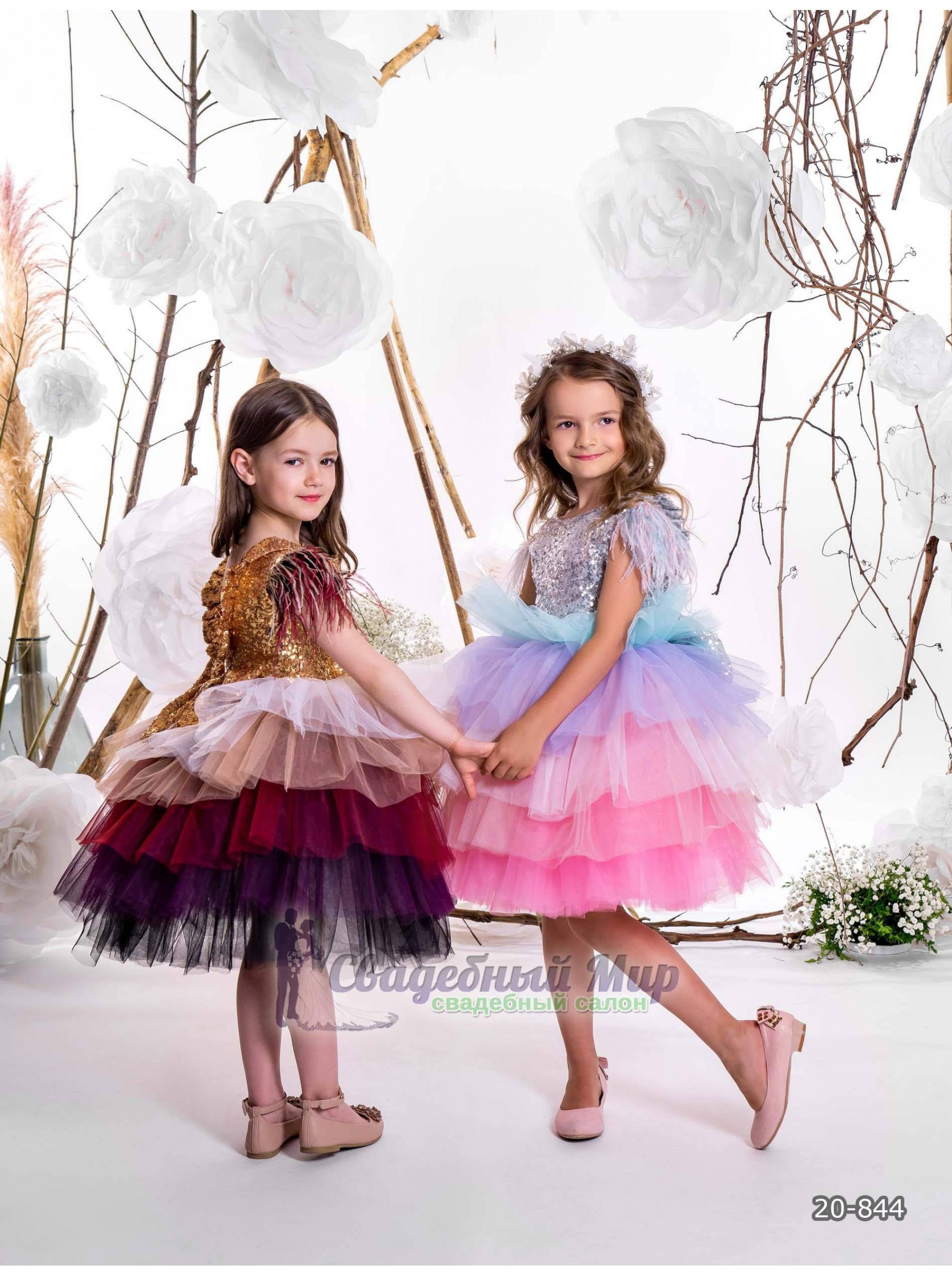 Детское платье 20-844