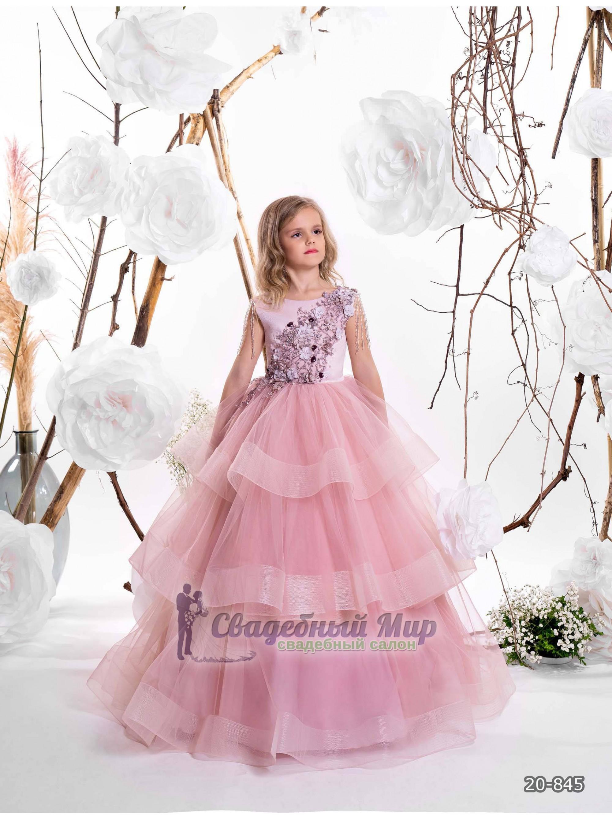 Детское платье 20-845