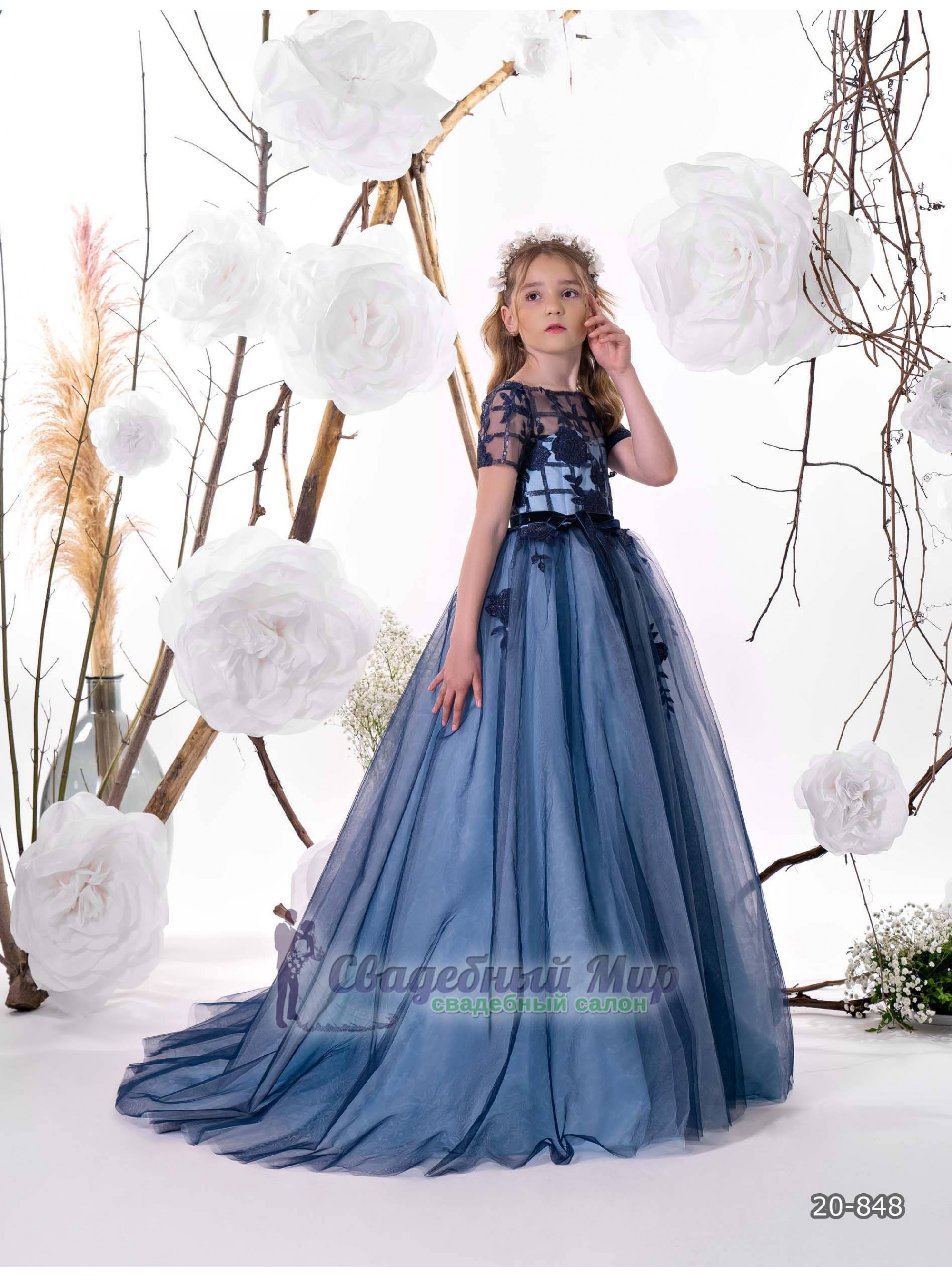Детское платье 20-848