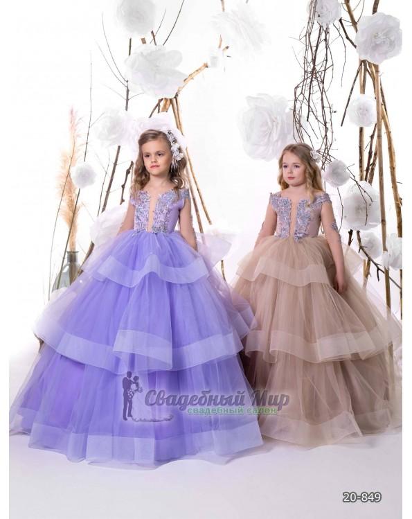 Детское платье 20-849
