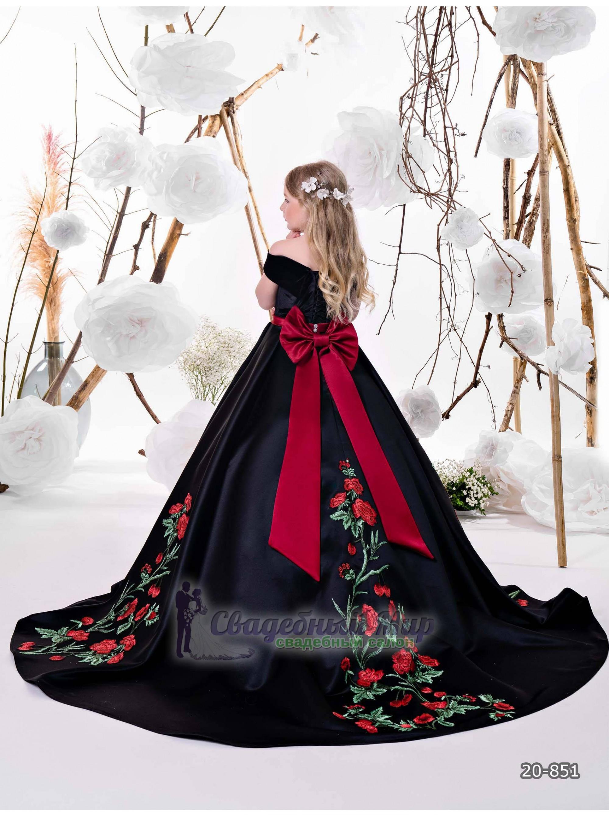 Детское платье 20-851