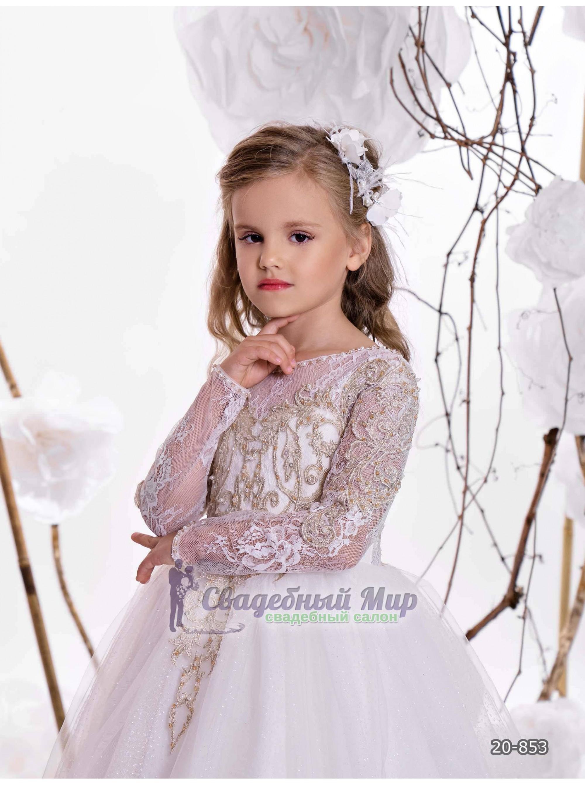 Детское платье 20-853