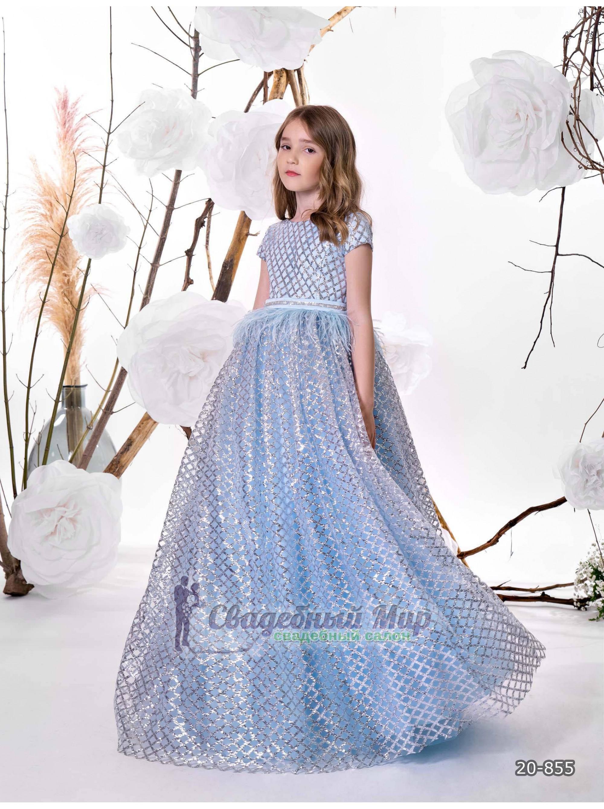 Детское платье 20-855