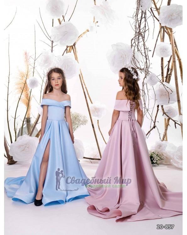 Детское платье 20-857