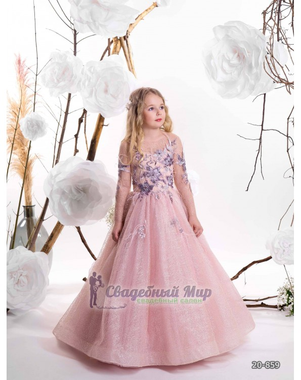 Детское платье 20-859