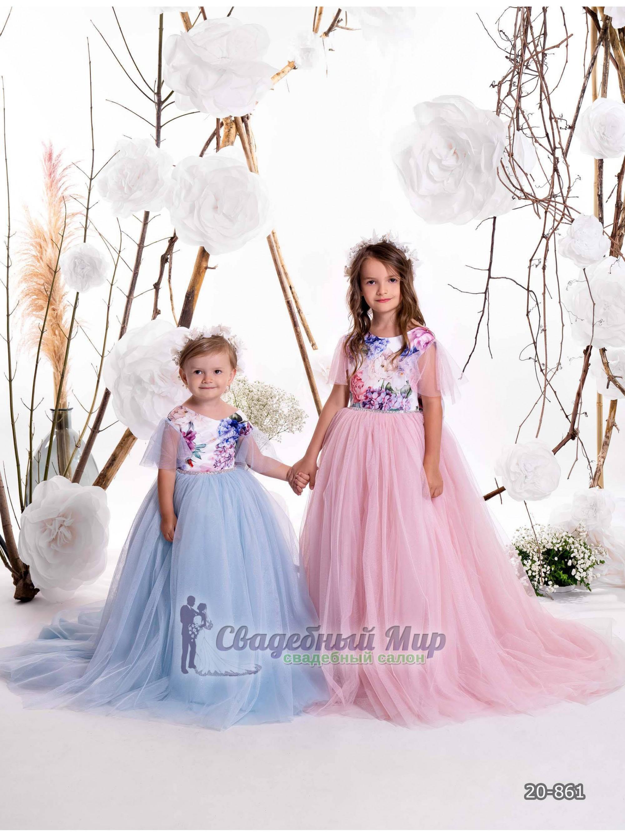 Детское платье 20-861