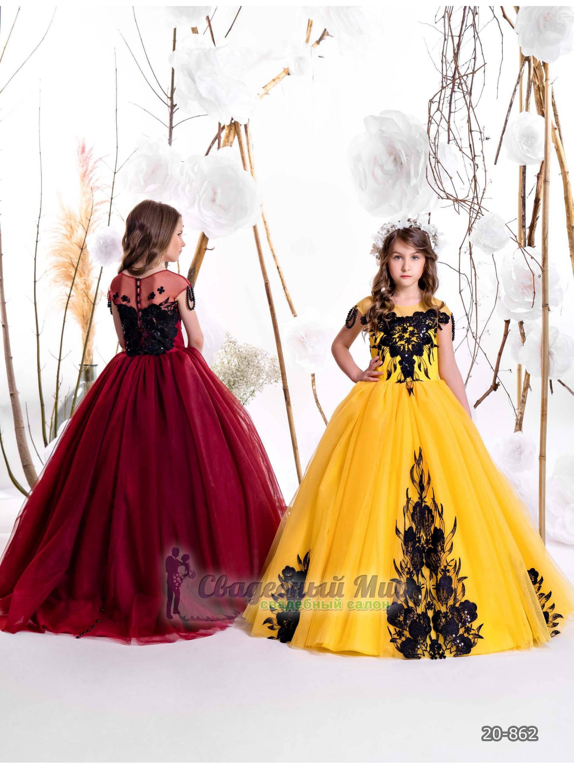 Детское платье 20-862