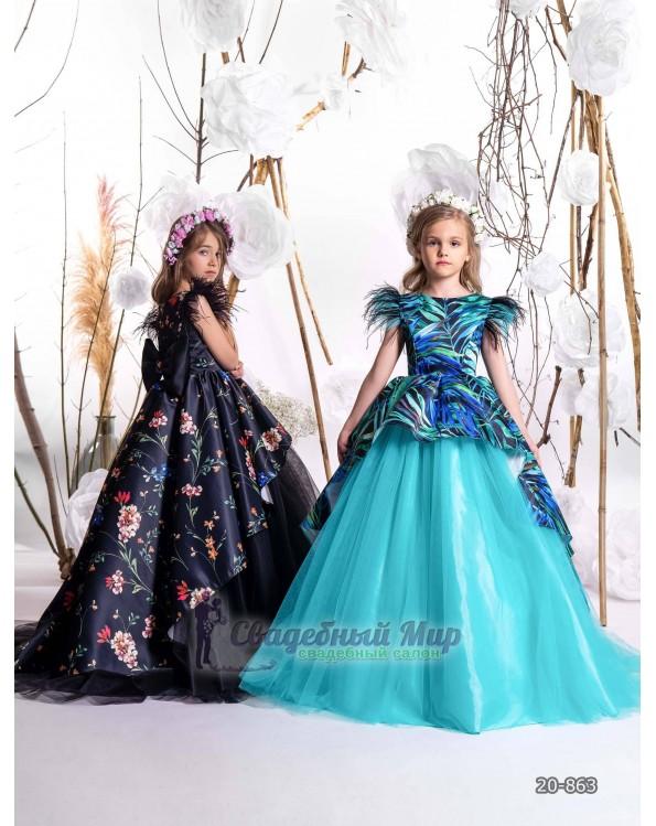 Детское платье 20-863