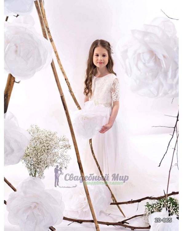 Детское платье 20-865