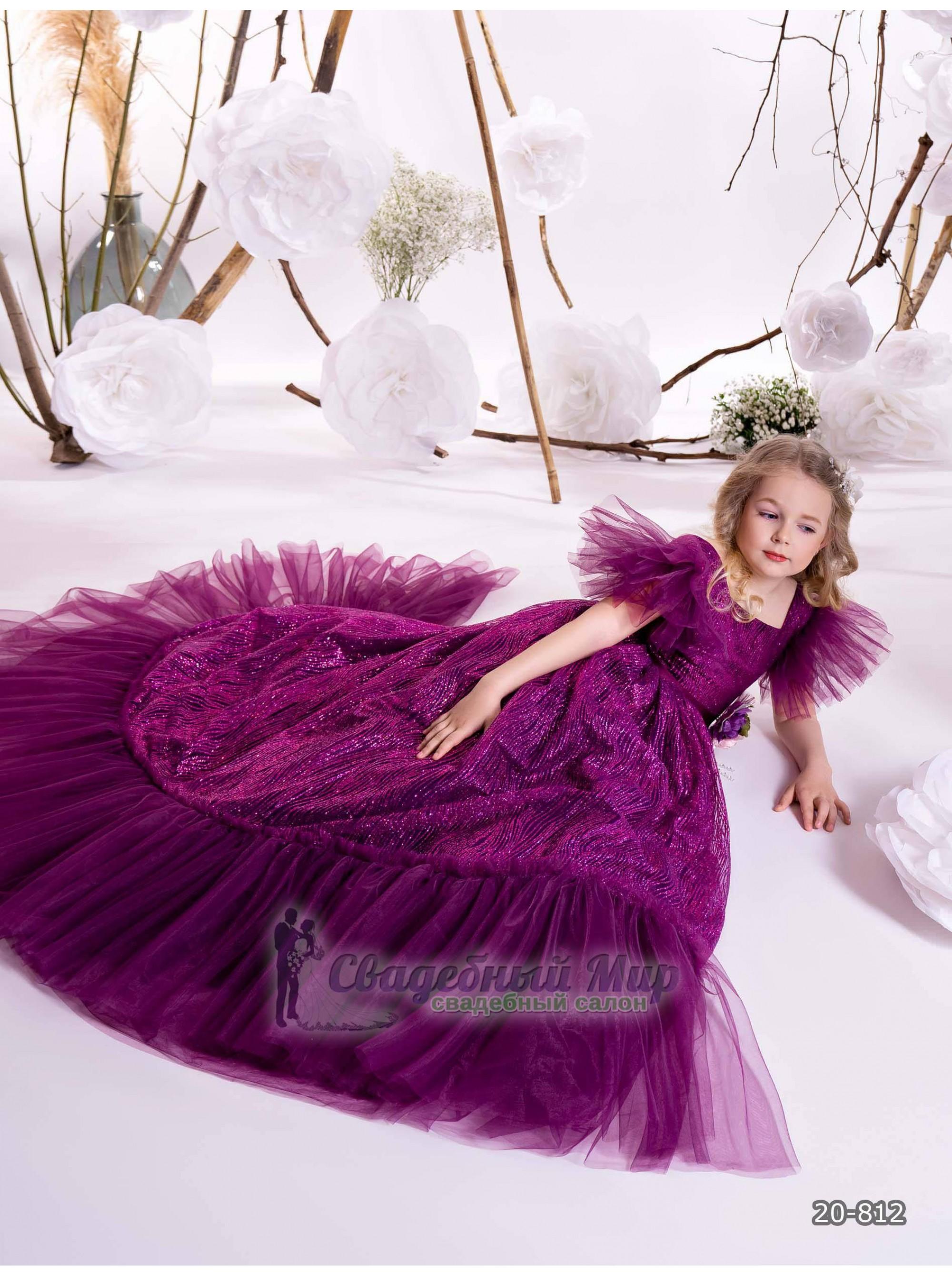 Детское платье 20-812