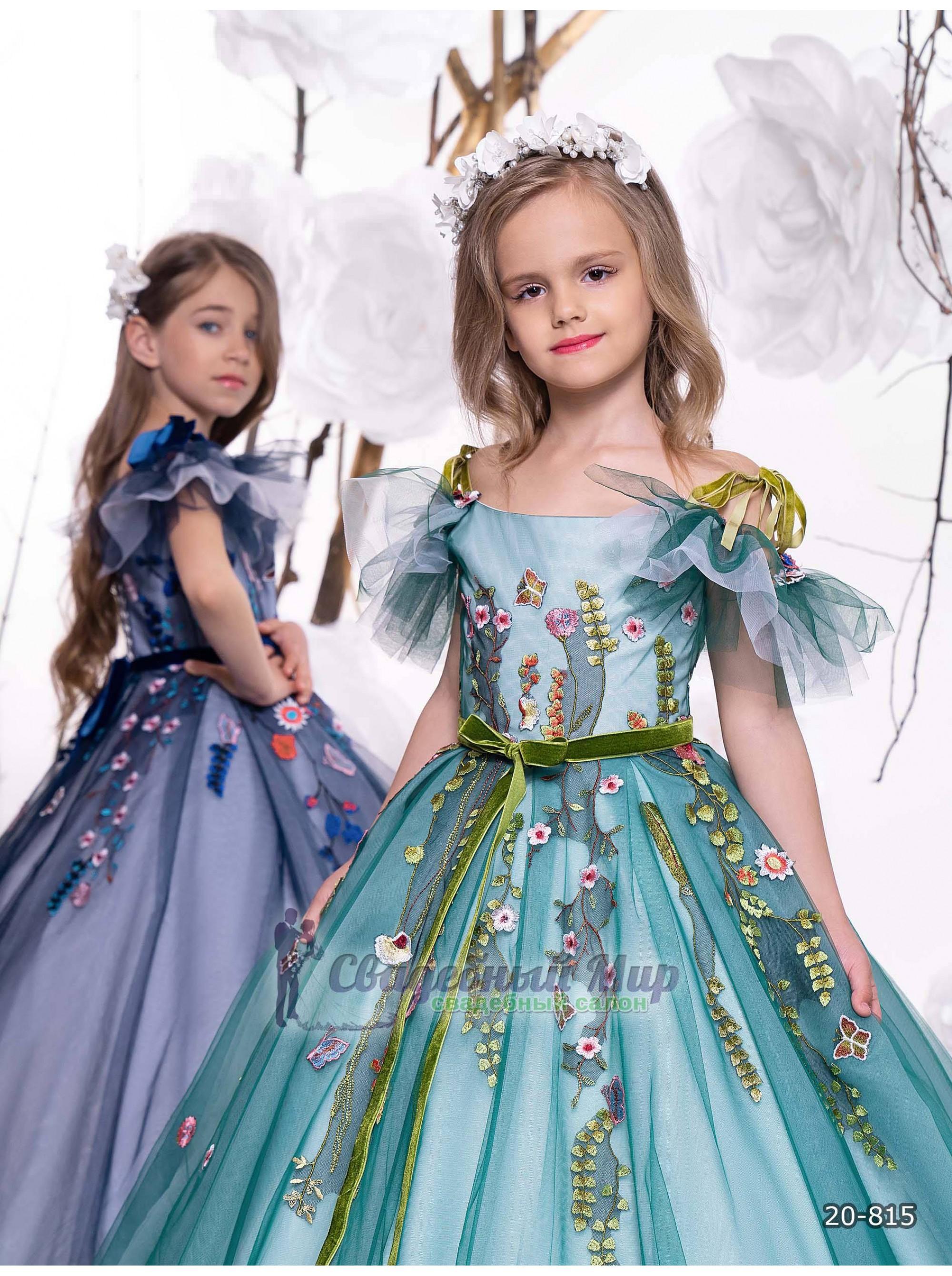 Детское платье 20-815