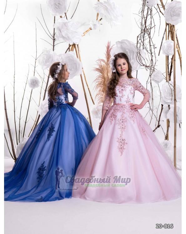 Детское платье 20-816
