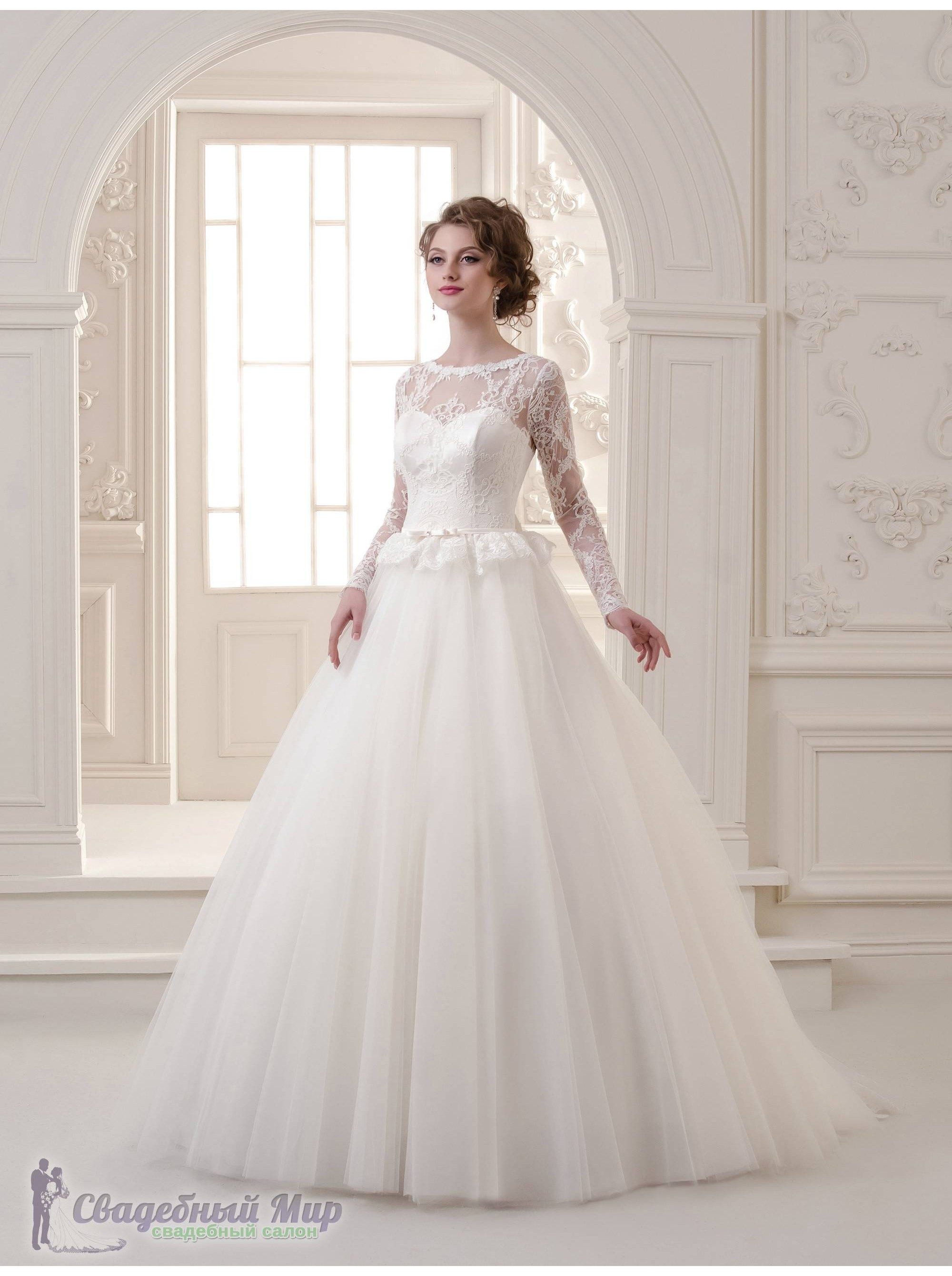 8a9a80352e0 Оригинальное Свадебное платье 15-137