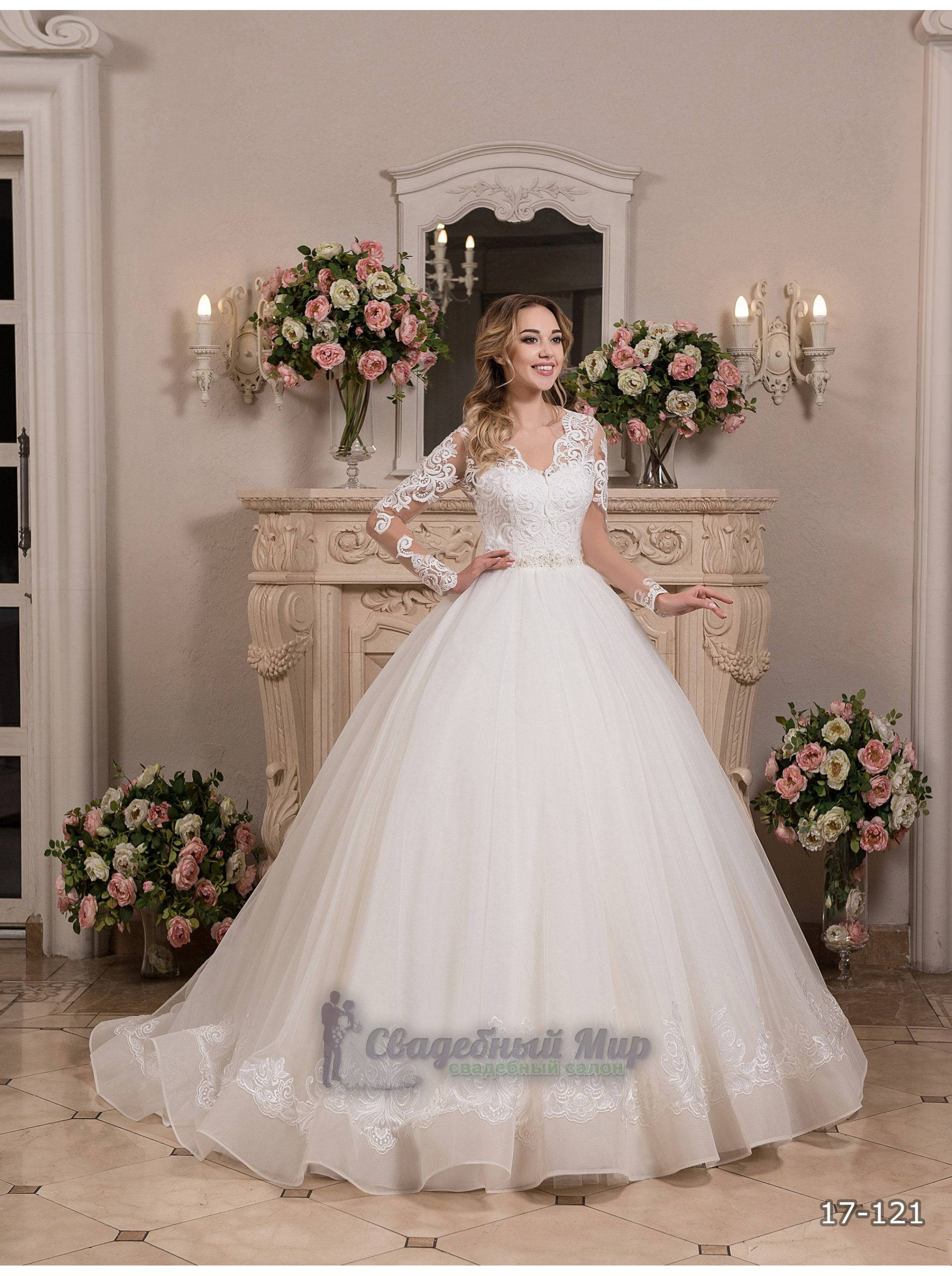 Свадебное платье 17-121
