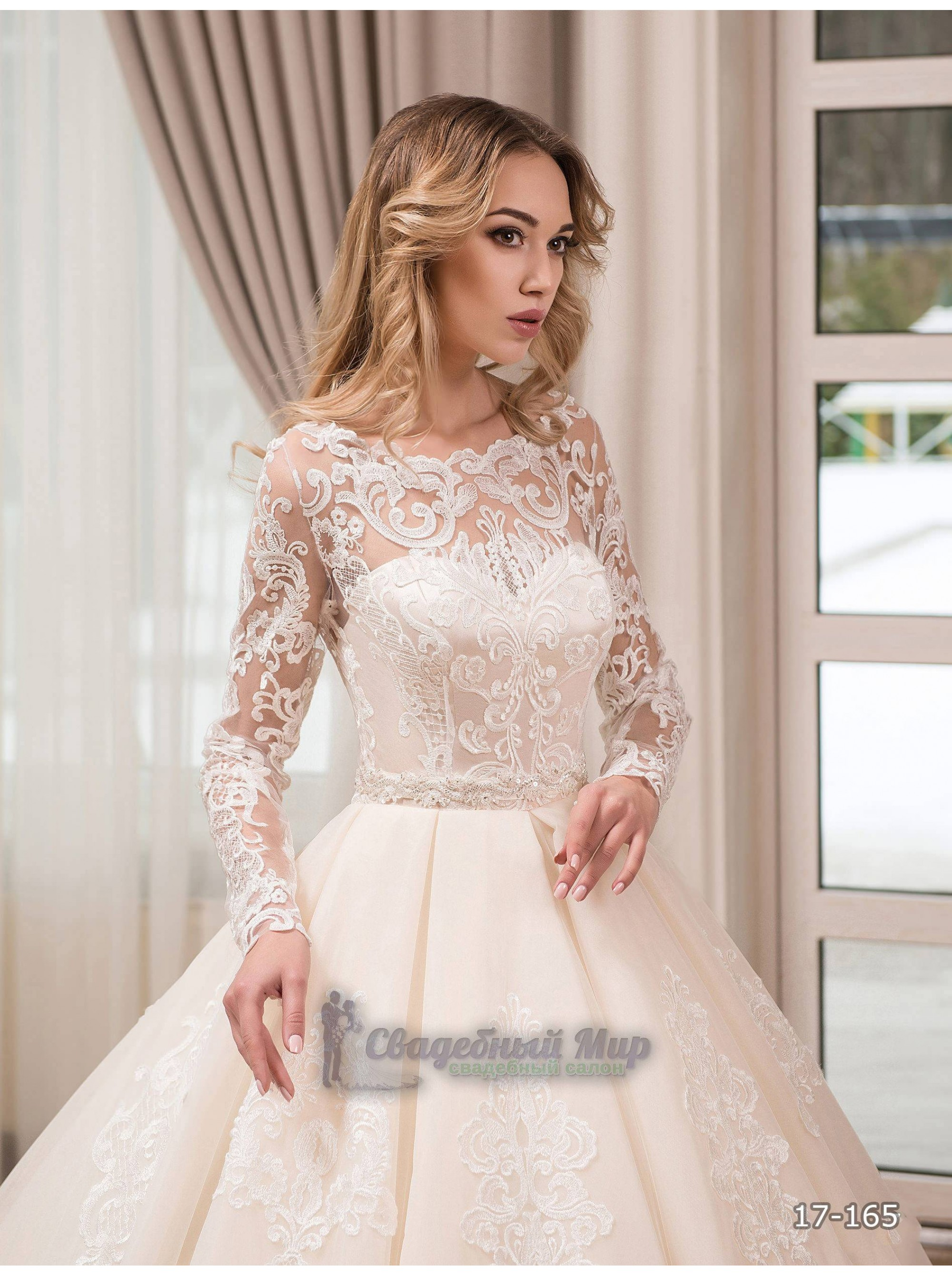Свадебное платье 17-165